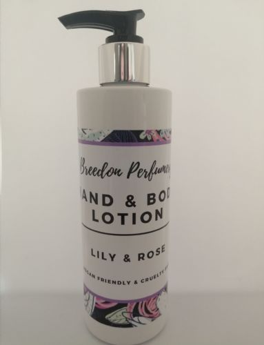 Hand & Body Lotion 250ml- Lily & Rose